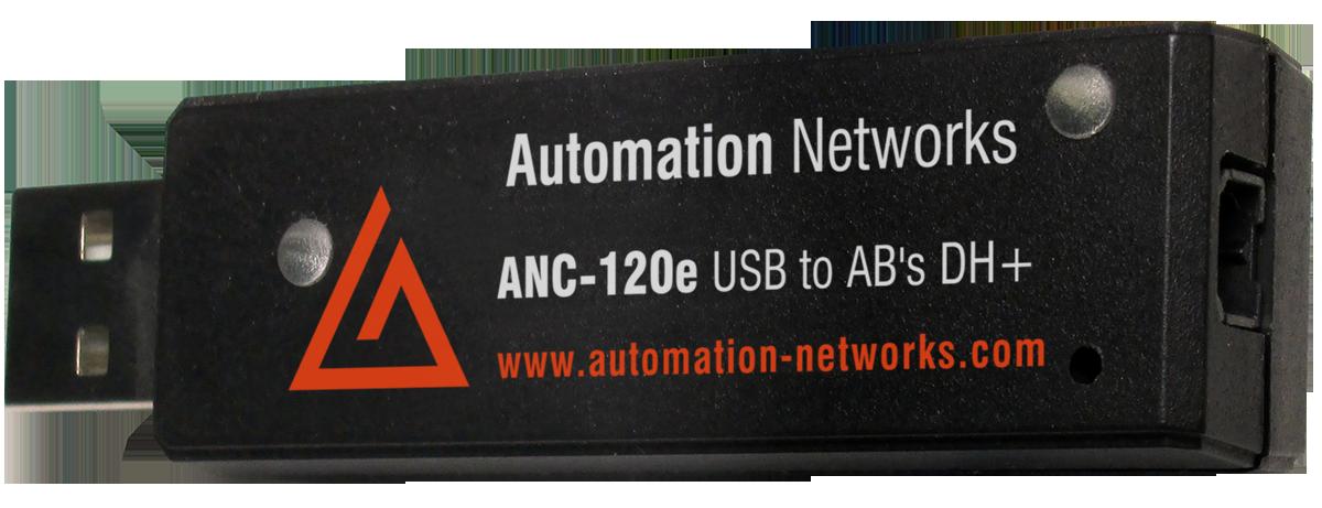 ANC-120e: USB to DH+ RSLINX PLC